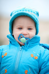 a boy portrait outdoors