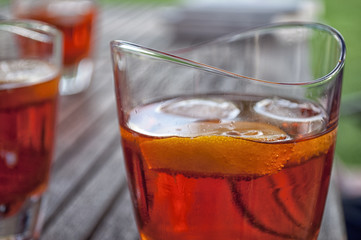 alcohol cocktail-summer drinkk-red liquor