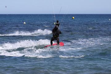 surf sur kite