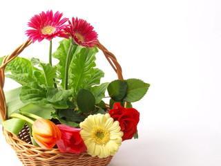 BASKET FLOWERS - KWIATOWY KOSZYK