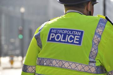 Metropolitan police in London