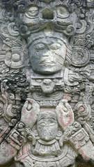 Estela P. Patio Occidental. Copán. Honduras.