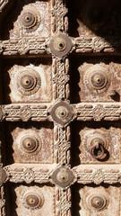 Puerta del fuerte Meherangarh en Jodhpur, Rajasthan, India.