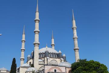 Selimiye Mosque in Edirne, Turkey.