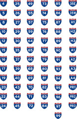 Interstate Highways, route number, 4-99