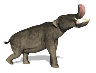 Platybelodon: Prehistoric Elephant