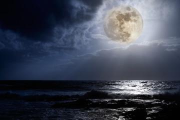 East Coast full moon