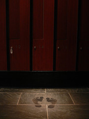 Footsteps in the Lockerroom