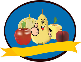 logo frutta