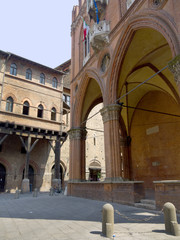 Chamber of Commerce Building in Bologna Italy