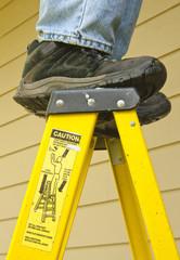 ladder safety concept