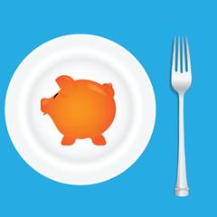 Deep dish and pig