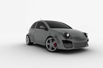 Modern electric car prototipe