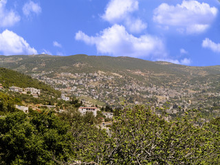Ajloun town located n Jordan is known by its Castle.