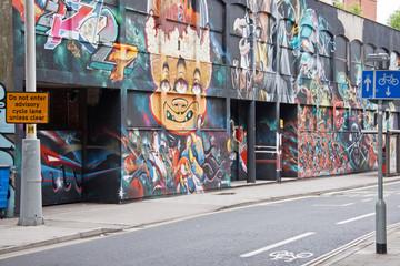 Street Art in Central Bristol UK
