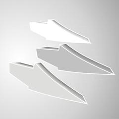 arrows gray