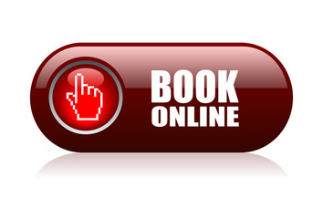 Book online vector icon