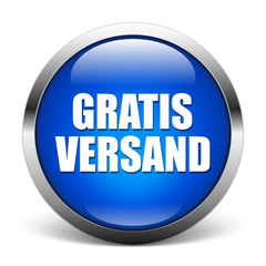 blue button - Gratis Versand