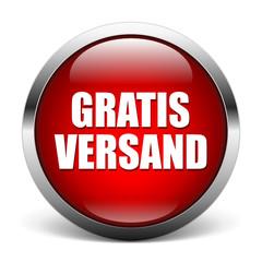red button - Gratis Versand