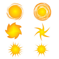 Sun set design elements