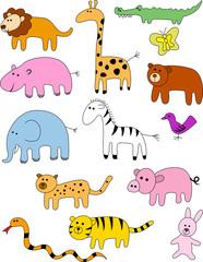 Animal doodle