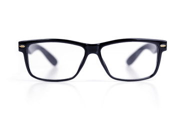 Elegant glasses in an elegant frame