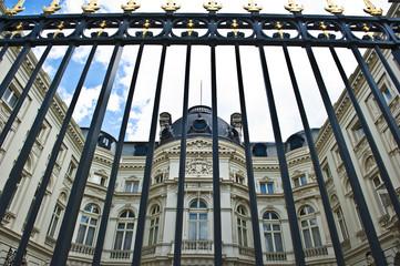Gate Blocking Palace
