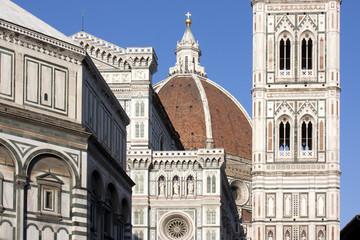 Fototapete - Firenze - Piazza del Duomo
