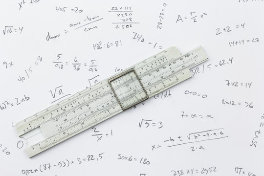 Slide rule and calculations