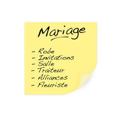 Organisation de mariage - wedding planner