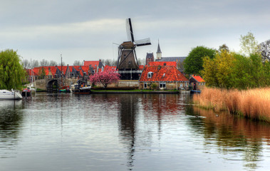 Traditional village - the Netherlands