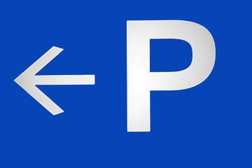 Parking turn left