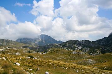 idyllic view of mountains in Montenegro