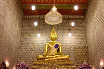 Buddha image in church