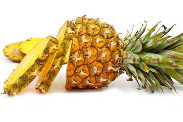 sliced  pineapple 