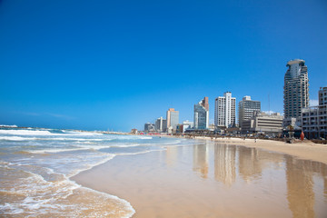 Panoramic view of Tel-Aviv. Israel