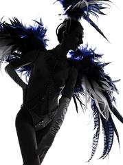 showgirl woman revue dancer dancing
