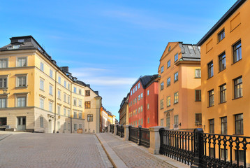 Stockholm. Streets of Old Town