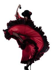woman gipsy flamenco dancing dancer