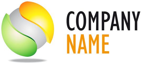 Company business 3D logo desing