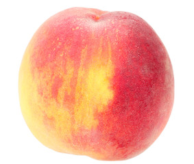 Single a big orange peach