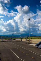landscape of airfield in Krabi