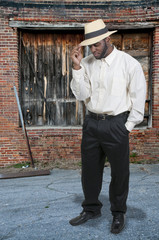 Black Man in Fedora