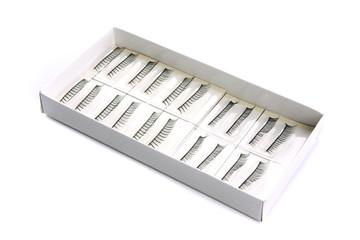 eyelashes in the carton