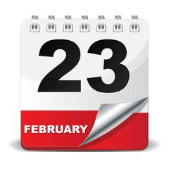 23 FEBRUARY ICON