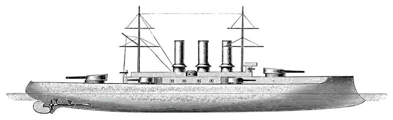 Italian battleship Vittorio Emanuele, 1904
