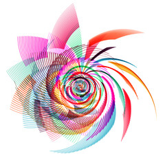 free style abstract illustration