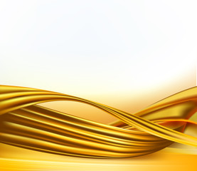 Gold business elegant abstract background. Vector