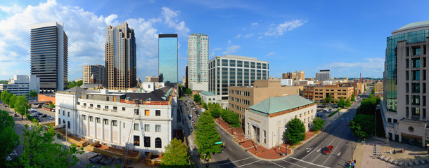Downtown Birmingham, Alabama Panorama