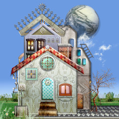 Wall Murals Imagination Summer house